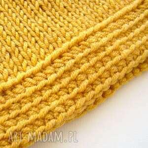 spódnica spódnice żółte rozkloszowana z klinów