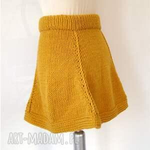 ręcznie wykonane spódnice spódnica rozkloszowana z klinów
