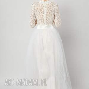 spódnice ślubna śnieżyczka - tiulowa spódnica