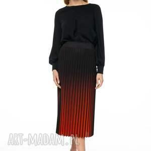 ręcznie wykonane spódnice spódnica midi z kolekcji premium uszyta