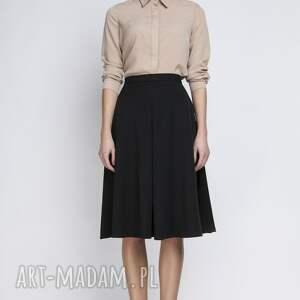 handmade spódnice elegancka spódnica, sp110 czarny