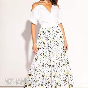 groszki spódnice białe spódnica donna
