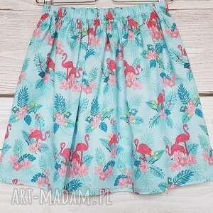 atrakcyjne spódnice flamingi spódnica