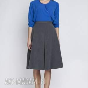 spódnice elegancka spódnica, sp110 grafit