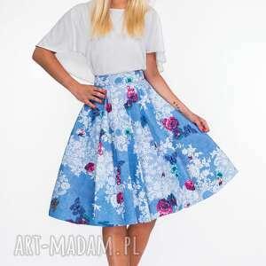 różowe spódnice midi spódnica koło bonita