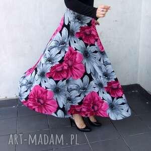 różowe spódnice kwiaty spódnica kwiatowa