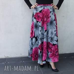 unikalne spódnice spódnica kwiatowa