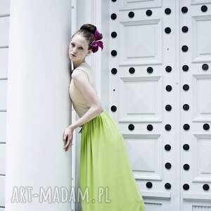 sweet spódnice różowe spódnica maxi z dzianiny