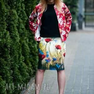 turkusowe spódnice spódnica ołówkowa