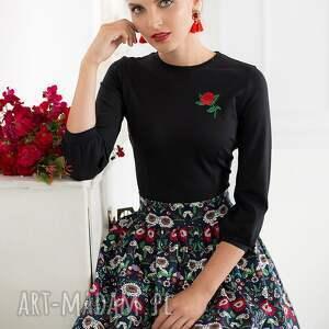 czarne spódnice spódnica wyjątkowa rozkloszowana uszyta