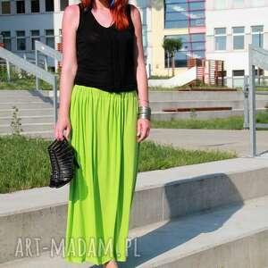 spódnice długa lejąca zwiewna spódnica idealna na lato