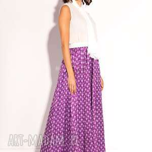 lekka spódnice spódnica maxi z kolekcji premium uszyta