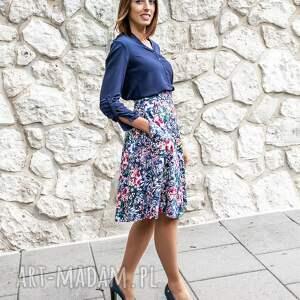 Skirt Story niekonwencjonalne spódnice kwiaty spódnica trapezowa