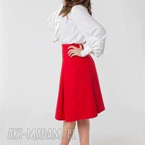 niebieskie spódnice spódnica w kontrafałdy rozmiar od