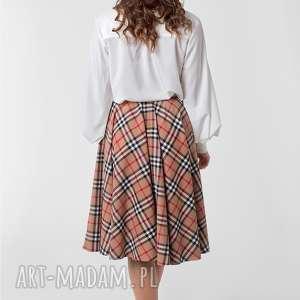 kratka spódnice spódnica z koła kieszenie podszewka