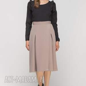 eleganckie spódnice casual spódnica z zakładką, sp116