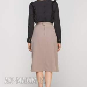 spódnice elegancka spódnica z zakładką, sp116