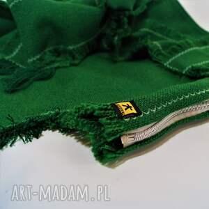 spódnice frędzle spódnica zielona