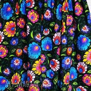 gustowne spódnice łowicz spódniczka czarna
