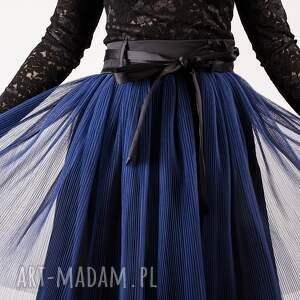 awangardowe spódnice plisowana tiulowa spódnica