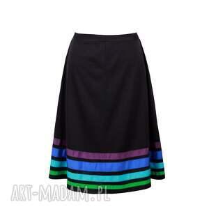 spódnice pasy trapezowa spódnica w cool
