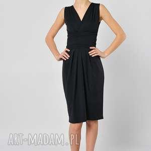 spódnice spódnica tulipan - czarna midi