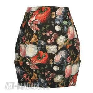ręczne wykonanie spódnice designerska wyjątkowa, ekstrawagancka