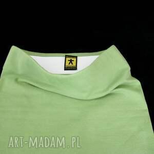 tuba spódnice zielona dzianinowa spódnica