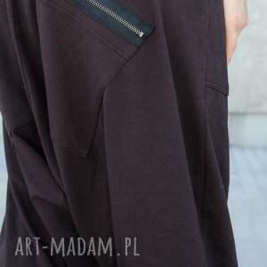 spodnie alladynki bawełniane alladynkiz zamkami