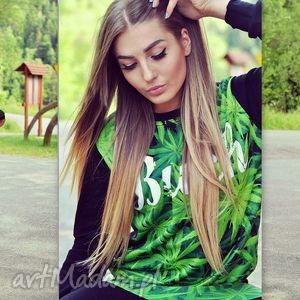 modne komplet blogerski dres z marihuaną