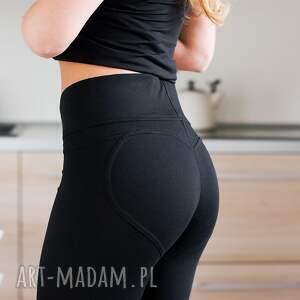 czarne spodnie fajne legginsy co se schudne to