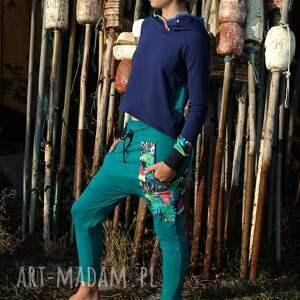 spodnie w-papugi damskie papugi - baggy