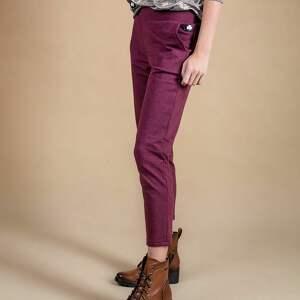 spodnie dresowe damskie bordo