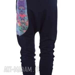 kolorowy dres spodnie dresowe damskie mosaic