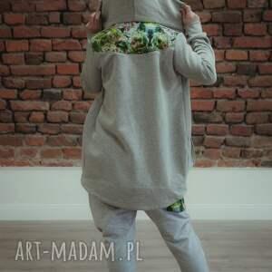 spodnie dresowe zielone damskie jungle