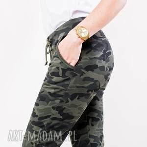 spodnie militarne dresowe modne fajne
