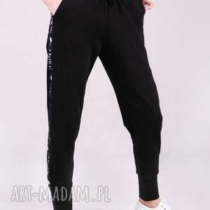 spodnie czarne dresowe damskie