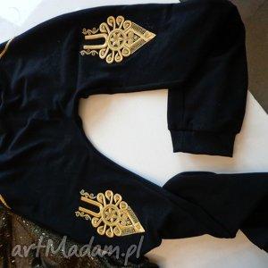 hand made spodnie góralskie dresy portki folk design aneta