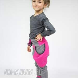 spodnie zestaw komplet dwóch par spodni dla mamy i dziecka