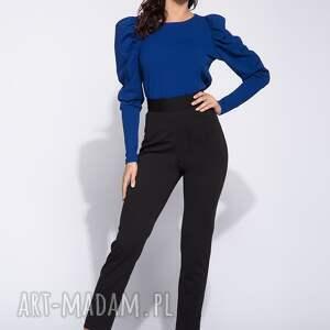 oryginalne spodnie zwężane eleganckie czarne damskie