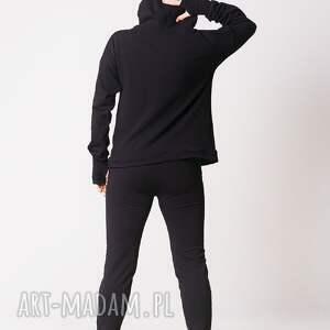 niepowtarzalne spodnie dress klasyczne czarne