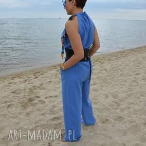 hand made spodnie kombinezon cecylia 7131