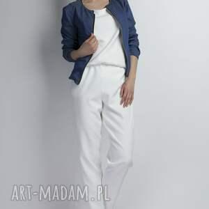 spodnie szelki seksowny kombinezon z krzyżującymi się