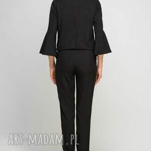 handmade spodnie romantyczny kombinezon z falbanami, kb112