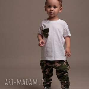 spodnie baggy komplet dla mamy i syna! w modnym wzorze moro