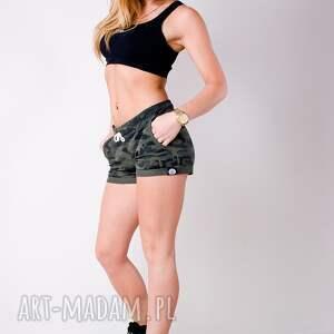ręczne wykonanie spodnie fajne militarne krótkie spodenki styl