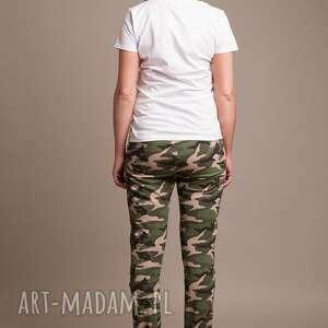 dla mamy spodnie moro damskie