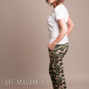 spodnie dla mamy moro damskie