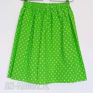 awangardowe spodnie zielona spódnica promocja // spódniczka