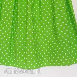 w kropki spodnie promocja // zielona spódniczka